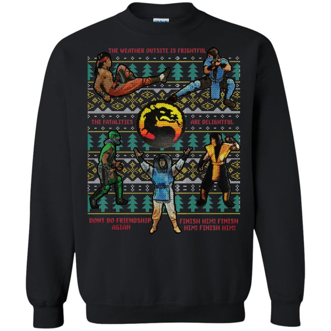 Mortal Kombat Ugly Christmas Sweater