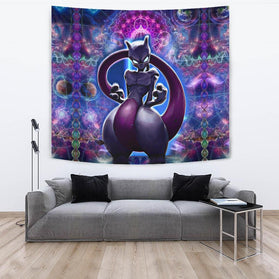 Mystic Mewtwo Tapestry