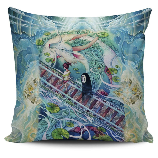 Mythical spirited away Pillow Cover