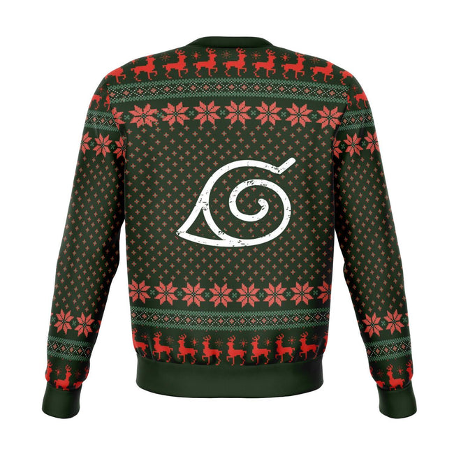 Naruto Squad 7 Premium Ugly Christmas Sweater