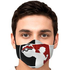 Nash Pokémon Premium Carbon Filter Face Mask
