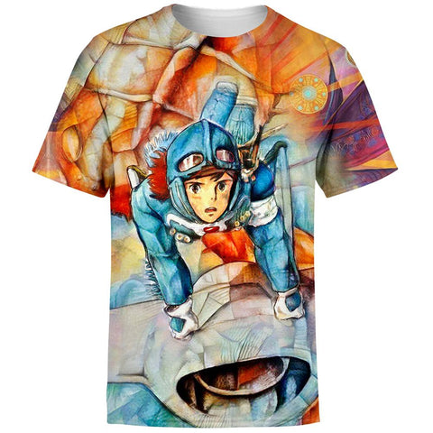 Nausicaa of the Valley of the Wind T-Shirt
