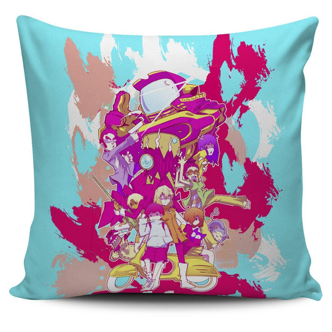 Neon FLCL Pillow Cover