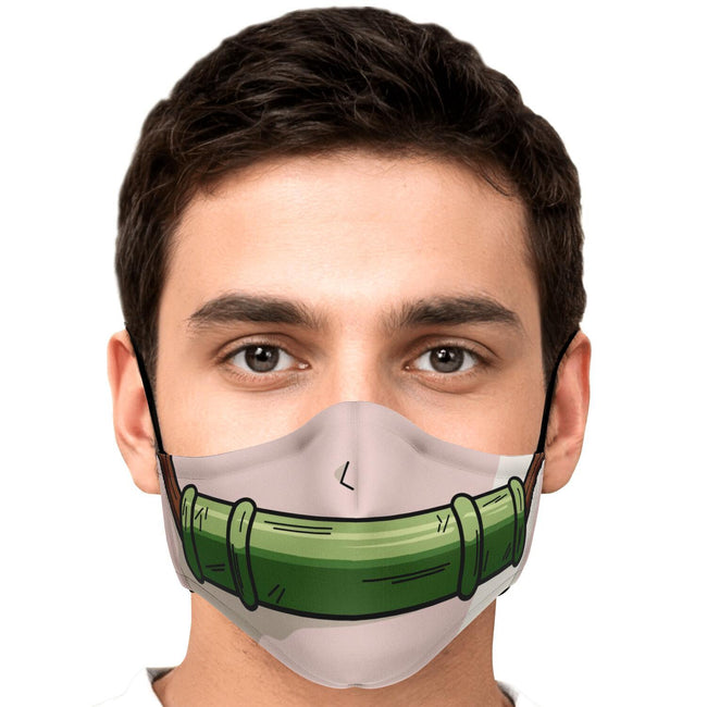 Nezuko Pattern V2 Demon Slayer Premium Carbon Filter Face Mask