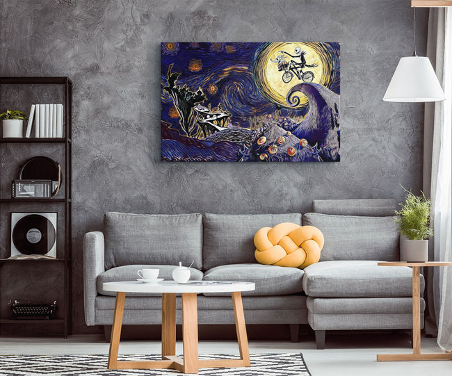 "The Nightmare Before Christmas Jack Skellington Movie Wall Poster 36/""x24/"" 008"