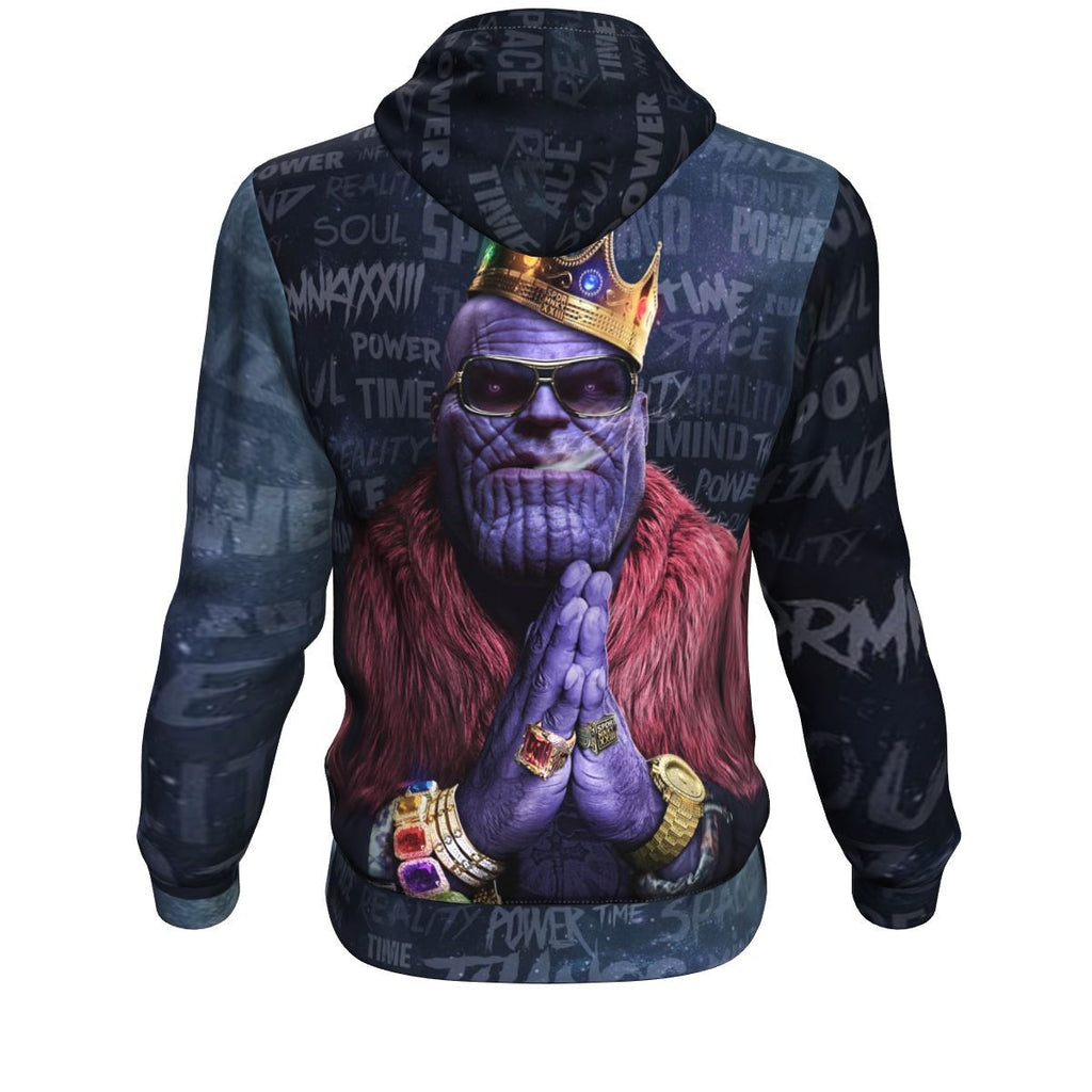 Notorious Titan - Thanos Biggie Smalls Rick Ross Inspired Thug Life Hoodie
