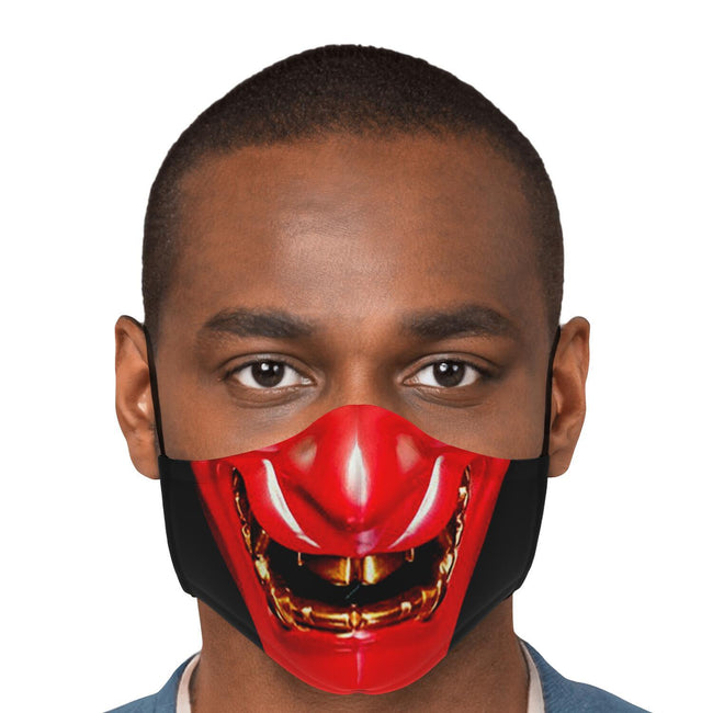 Oni Mask Red Premium Carbon Filter Face Mask