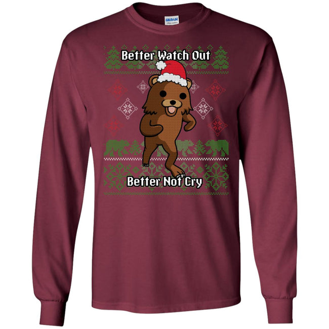 Pedobear Ugly Christmas Sweater