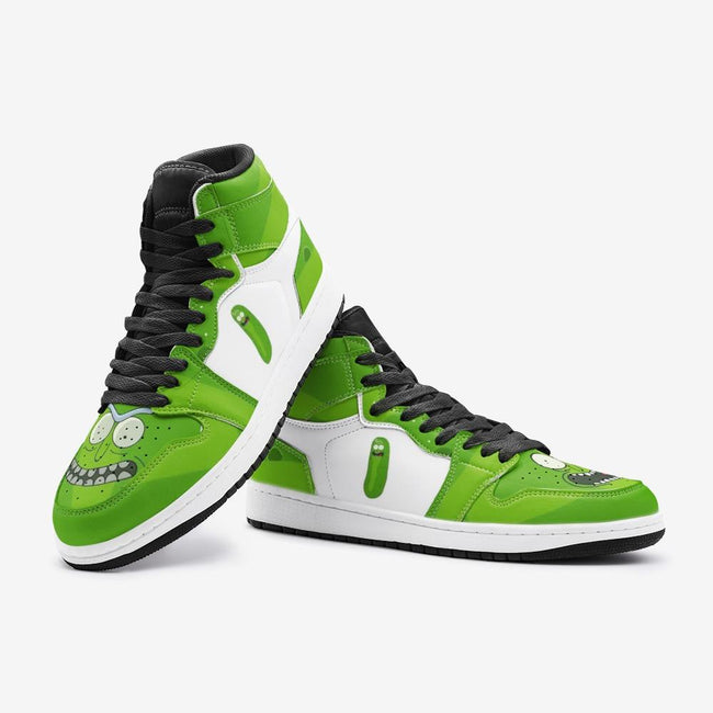 Pickle Rick Face Rick and Morty Custom J-Force™ Shoes