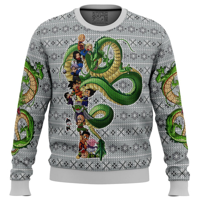 Play with the Dragon Dragonball Z Premium Ugly Christmas Sweater