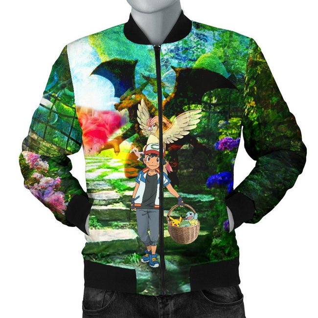 Pokemon Basket Custom Bomber Jacket