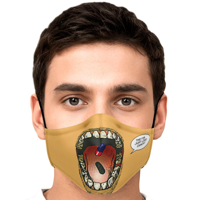 Poppills Akira Premium Carbon Filter Face Mask