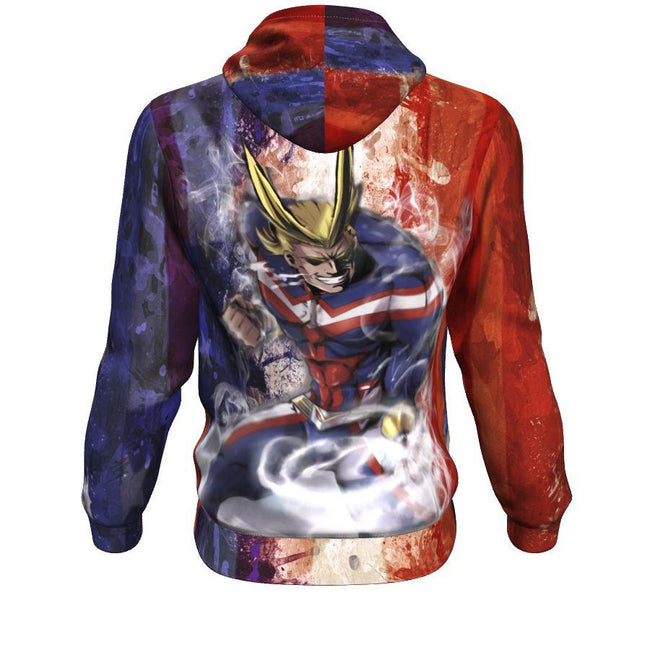 Power All Might Hoodie