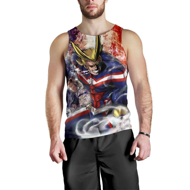 Power All Might Premium Tank Top