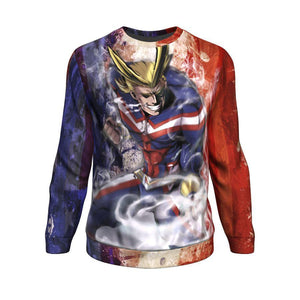 Power All Might Sweatshirt