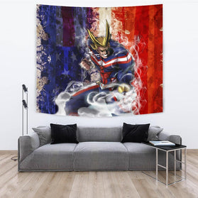 Power All Might Tapestry