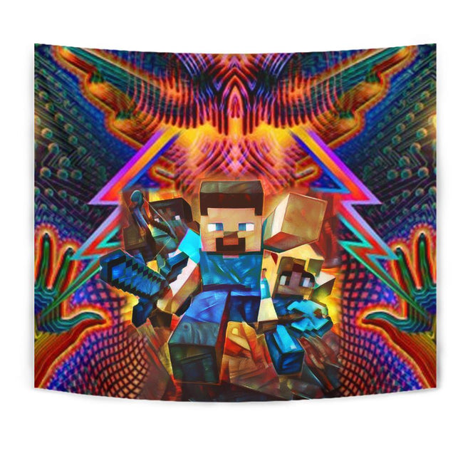 Power Minecraft Tapestry