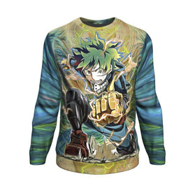 Raging Deku Sweatshirt