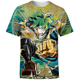 Raging Deku T-Shirt