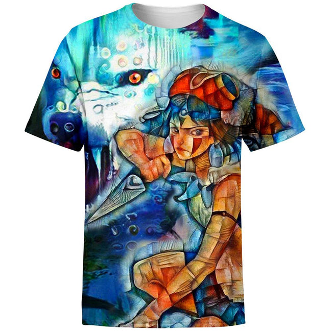 Raging Princess Mononoke T-Shirt