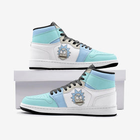 Rick got Angry Rick and Morty Custom J-Force™ Shoes