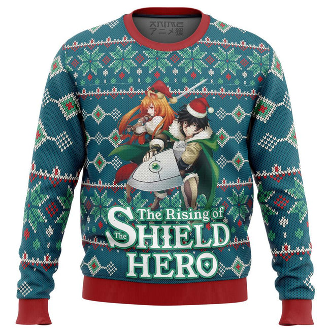 Rising of the Shield Hero Alt Premium Ugly Christmas Sweater