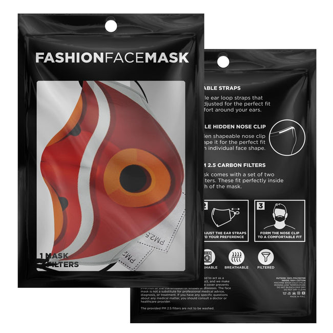 San's Mask V1 Premium Carbon Filter Face Mask