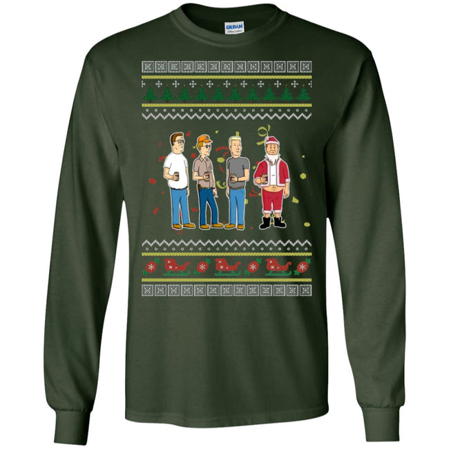 Santa Bill Ugly Christmas Sweater