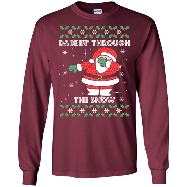Santa Claus Dabbin Ugly Christmas Sweater