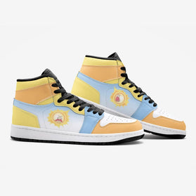 Screaming Sun Rick and Morty Custom J-Force™ Shoes