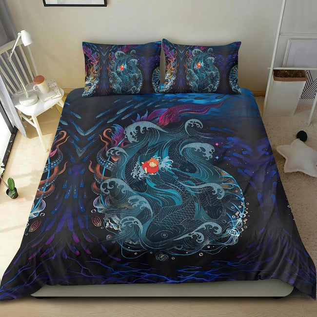 Sea Creatures Ponyo Bedding Set