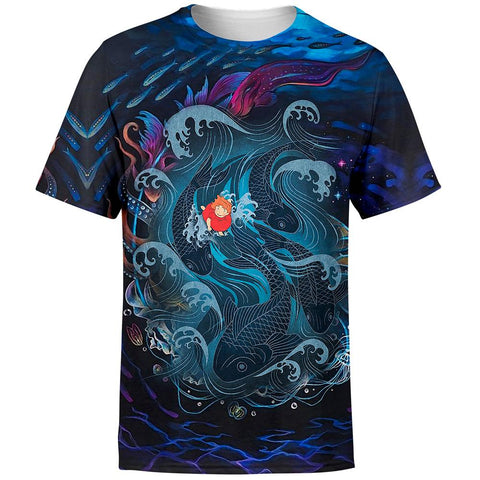 Image of Sea Creatures Ponyo T-Shirt