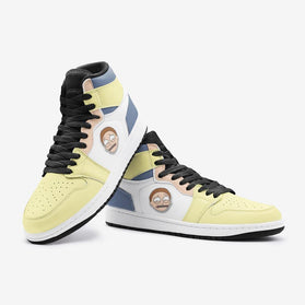 Sick Morty Rick and Morty Custom J-Force™ Shoes