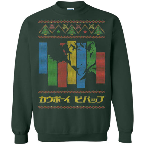 Space Cowboy Bebop Ugly Christmas Sweater