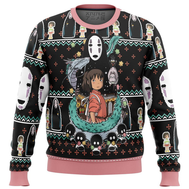 SPIRITED AWAY Avatar Premium Ugly Christmas Sweater