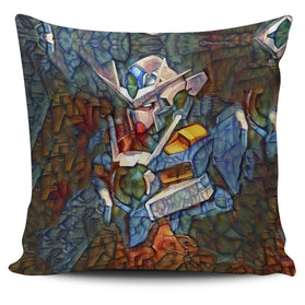 Stained Gundam Pillow Cover