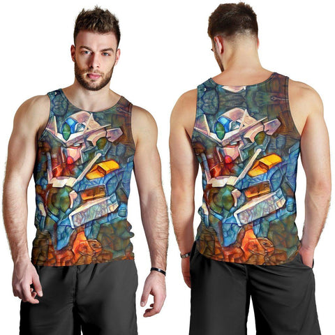 Image of Stained Gundam Premium Tank Top