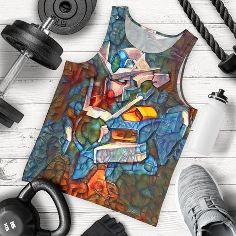Stained Gundam Premium Tank Top