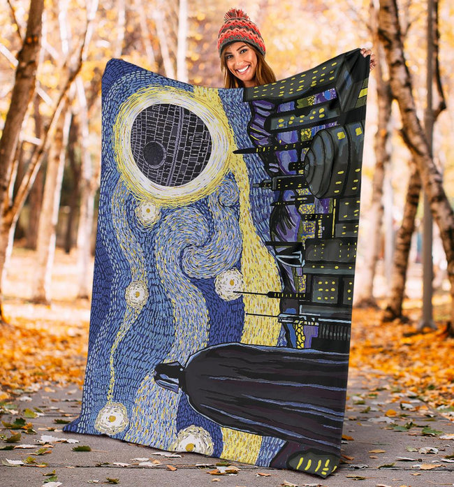 Star Wars Starry Night Blanket
