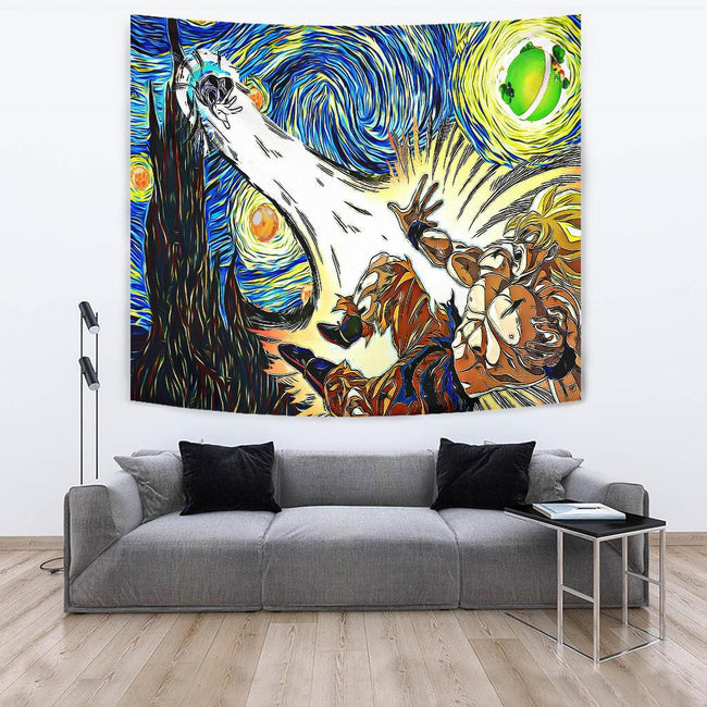Starry night dbz - namek Tapestry