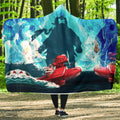 Striking Porco Rosso Hooded Blanket