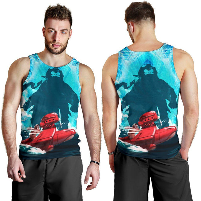 Striking Porco Rosso Premium Tank Top