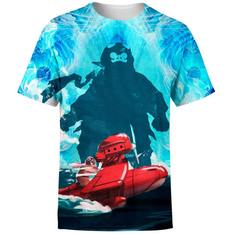 Image of Striking Porco Rosso T-Shirt