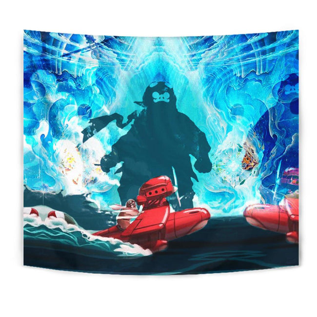 Striking Porco Rosso Tapestry