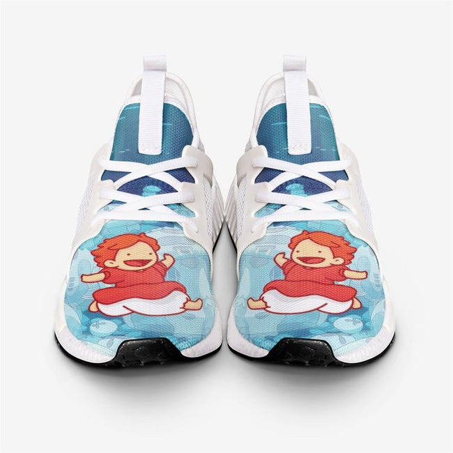 Studio Ghibli PONYO JUMPS Custom Nomad™ Shoes