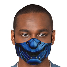 Sub Zero Samurai Mask Mortal Kombat Premium Carbon Filter Face Mask