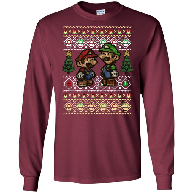 Super Mario Ugly Christmas Sweater