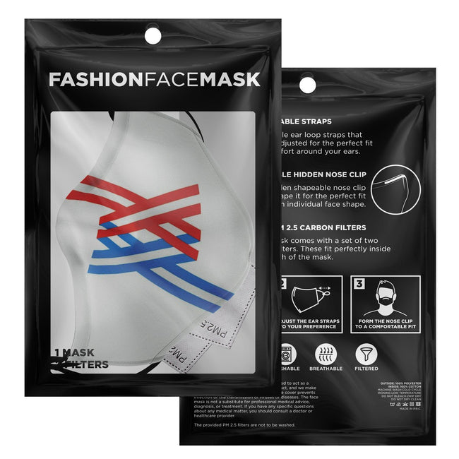 Symbol Darling in the Franxx Premium Carbon Filter Face Mask
