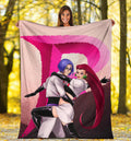 Team Rocket Pokemon Blanket