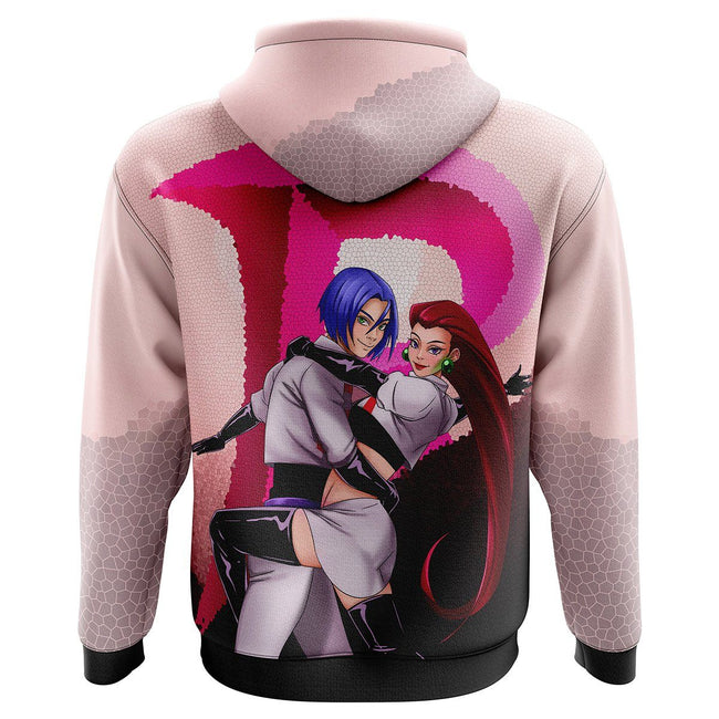Team Rocket Pokemon Hoodie